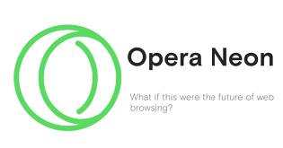 Opera Neon 2018 Free Download