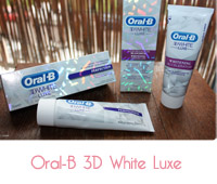dentifrice oral B 3D white luxe