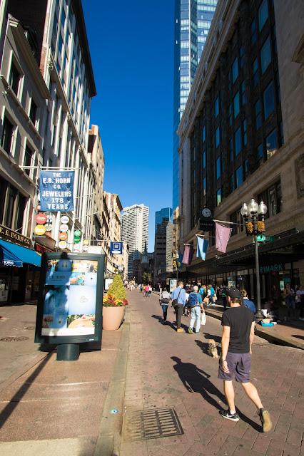 Whasington street-Boston