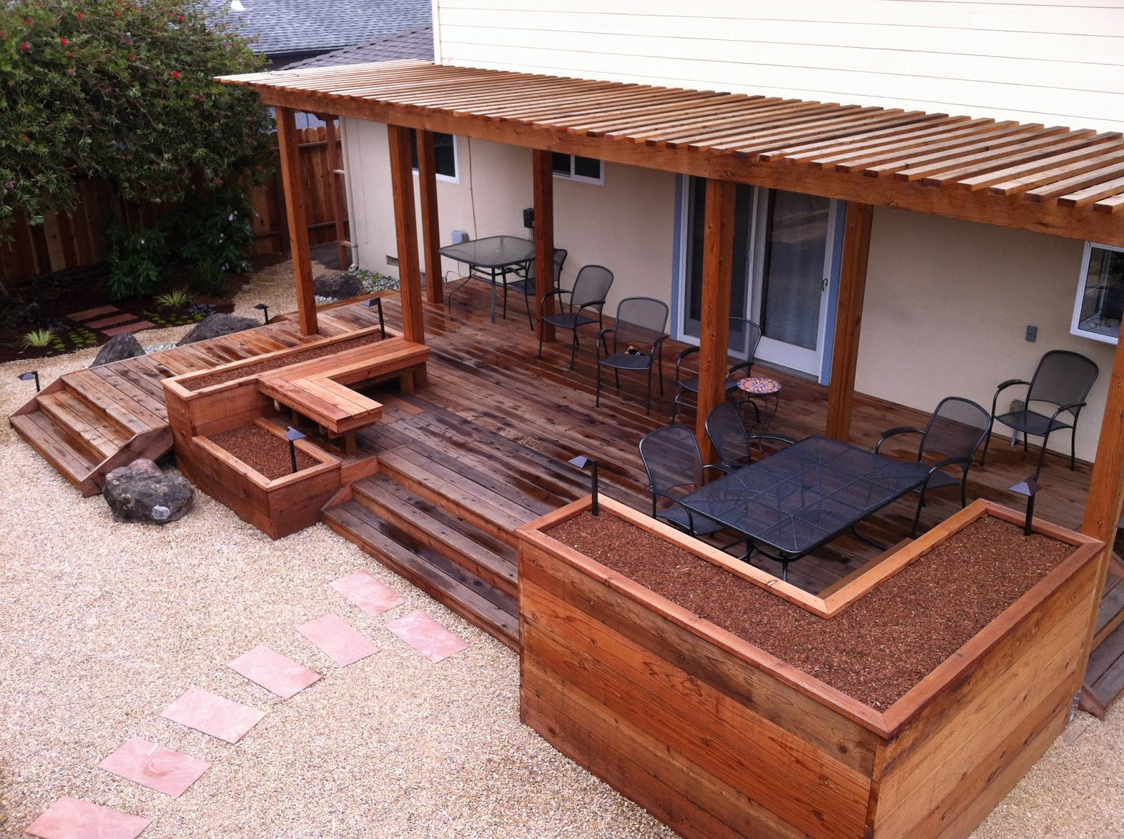 Deck Garden Box 25 Railing Planters Ideas Only On Pinterest