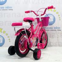 12 previa princess sepeda anak perempuan
