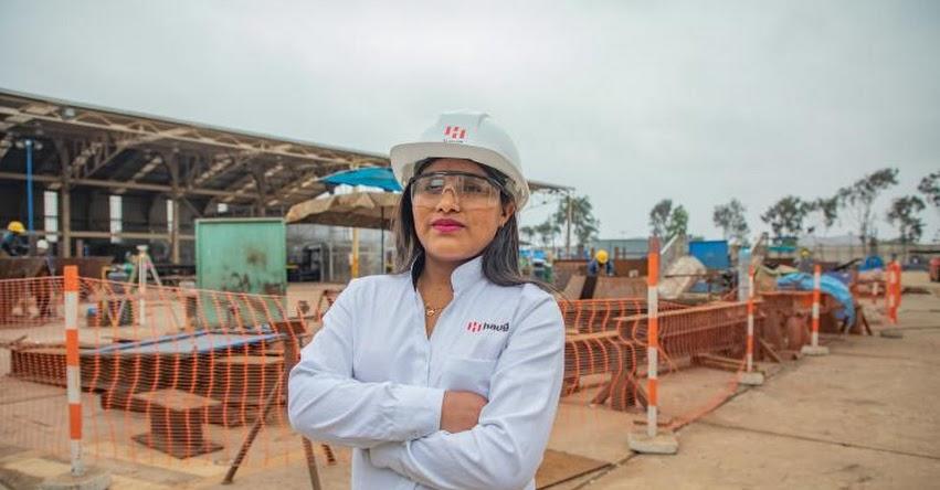 MARICRUZ QUISPE SOCA: Conoce a la becaria del Estado que combate estereotipos en la industria metalmecánica