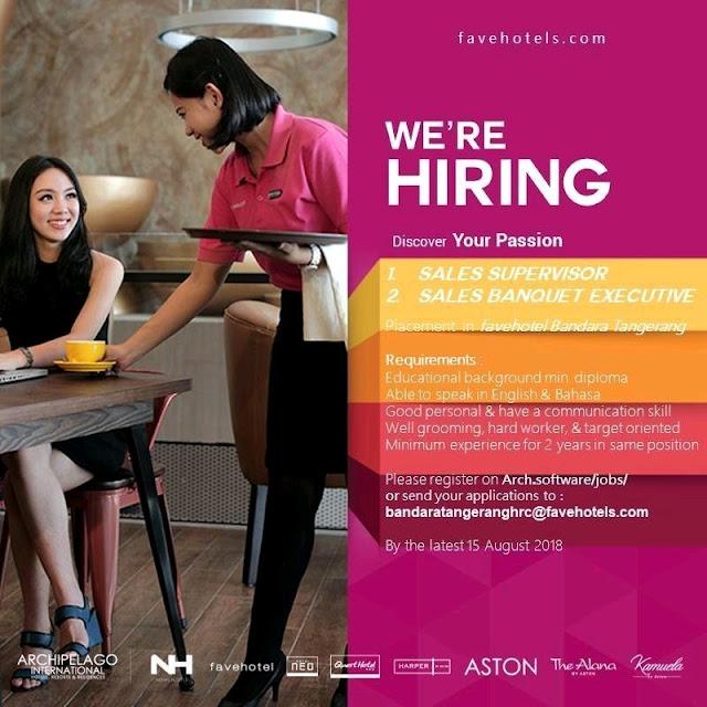 Lowongan kerja Favehotel Bandara Tangerang 2018 bagian 5