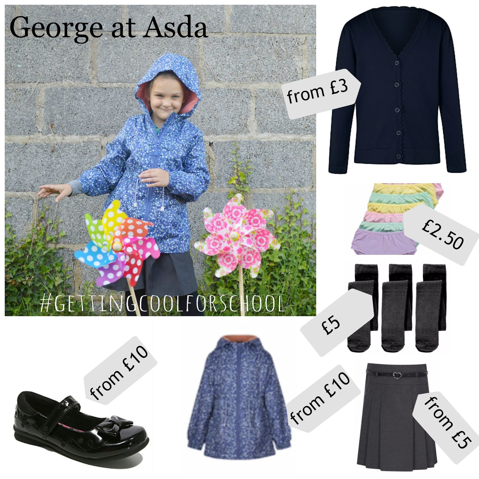 , The Girls are #toocoolforschool  with George at Asda