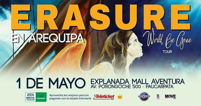 Erasure en Arequipa