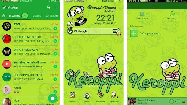 Download OPPO (ColorOs) Theme Ceropy Oppo a57
