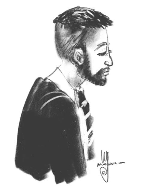 Portrait sketch by Ulf Artmagenta