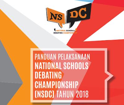 Panduan Lomba National Schools Debating Championship Sekolah Menengan Atas Tahun  PANDUAN LOMBA NSDC Sekolah Menengan Atas TAHUN 2018
