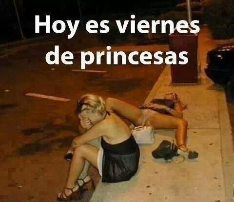 hoy es viernes de princesas