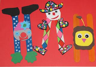activité enfant theme carnaval cirque