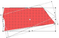 Merupakan tool yang kegunaanya untuk menyetting skala gambar, merotasi gambar, membentuk gambar yang diinginkan, dan mendistort gambar, Free Transform juga bisa digunakan untuk memindahkan gambar dengan men-drag N drop gambar/desain anda, perhatikan gambar dibawah ini untuk contoh dalam penggunaan Free Transform.