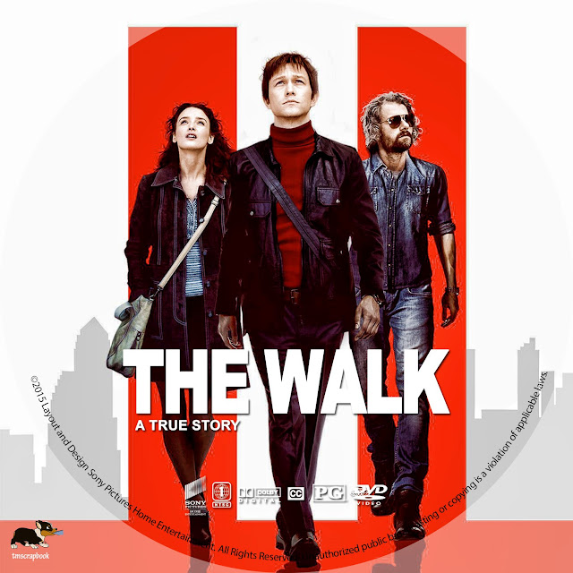 The Walk DVD Label