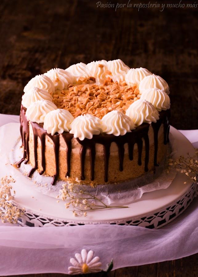 Cheesecake de turrón blando sin horno