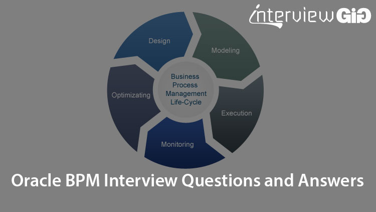 Oracle BPM Interview Questions and Answers