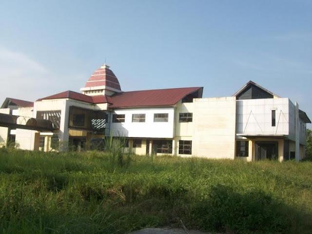 RSU Type C Kota Tanjungbalai yang pembangunannya diduga menyimpang.