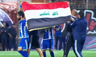 الاردن تعتقل بعض جماهير نادي القوة الجوية العراقي والجزيرة بسبب صدام حسين
