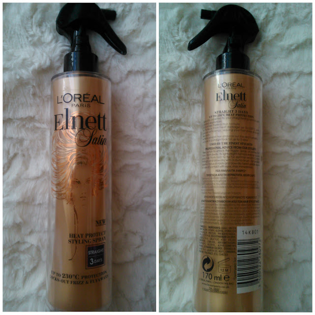 L'Oreal Paris Elnett Satin Heat Protect Styling Spray