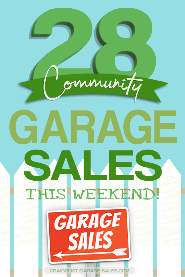 Craigslist Okc Garage Sales >> City Wide Neighborhood Garage Sales May 17 19