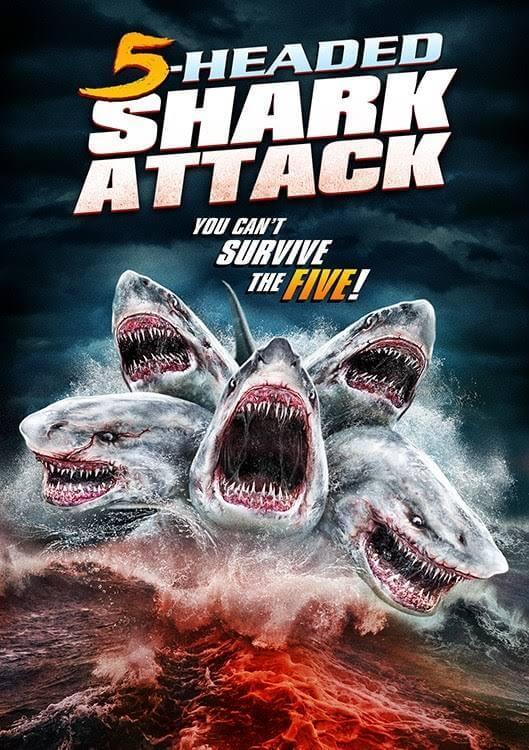 O Ataque do Tubarão de 5 Cabeça Dublado