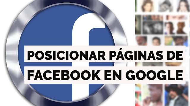 Posicionamiento de FB en Google España