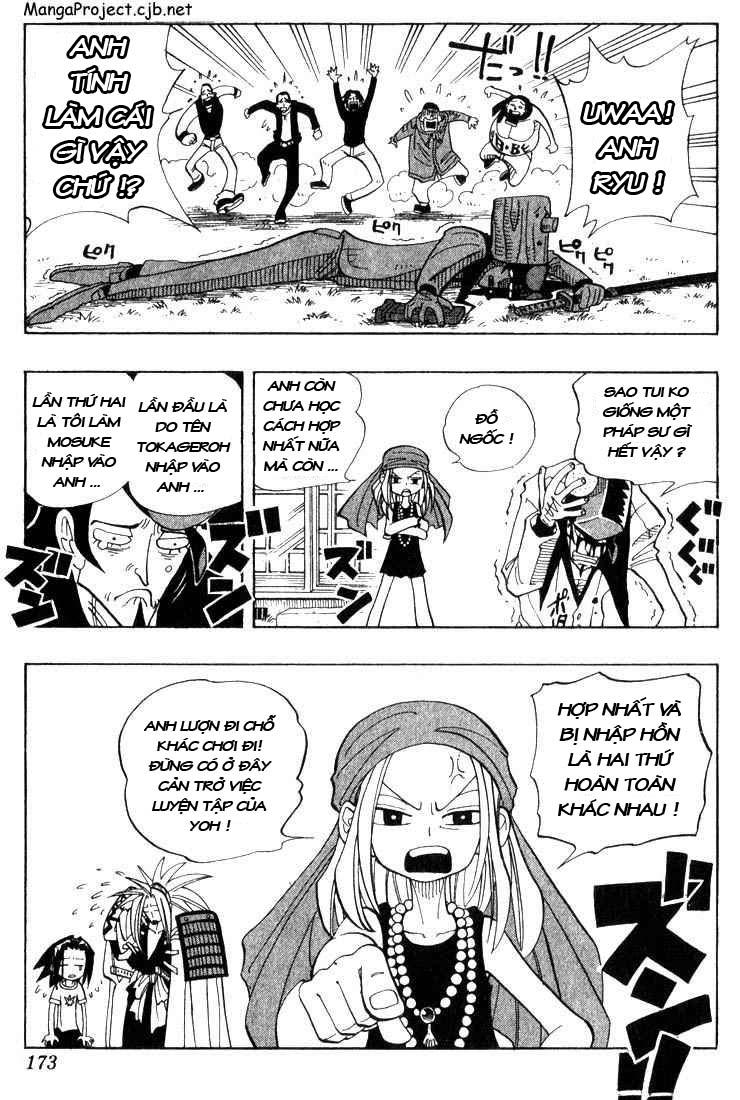 Shaman King [Vua pháp thuật] chap 26 trang 5