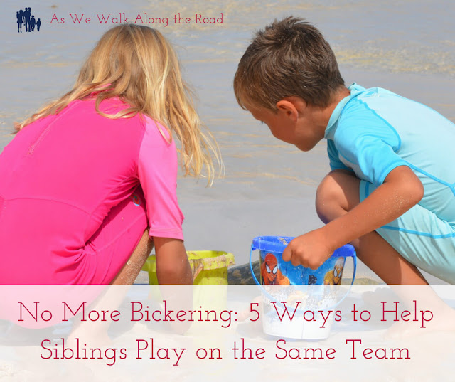 Prevent sibling bickering