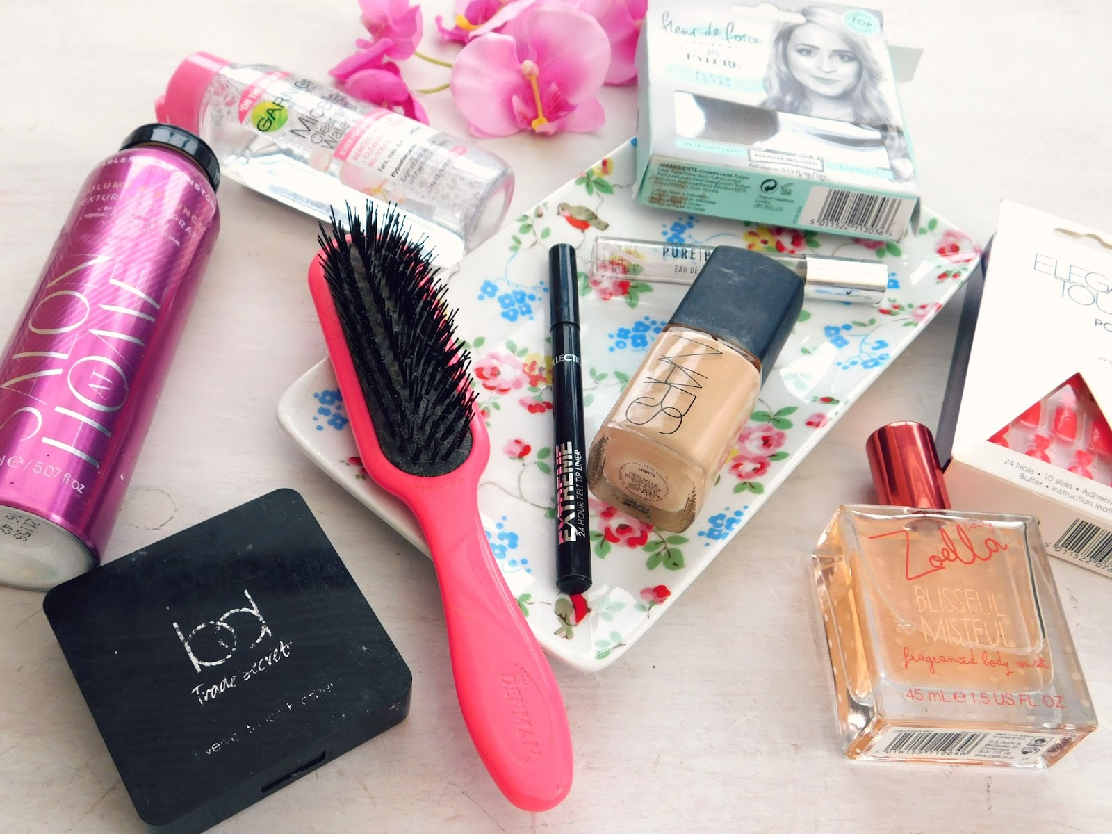 Current Beauty Favourites, Makeup Favourites, Nars, Collection, Tangle Teezer