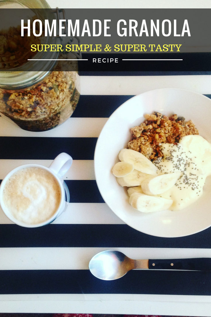 granola, healthy, recipe