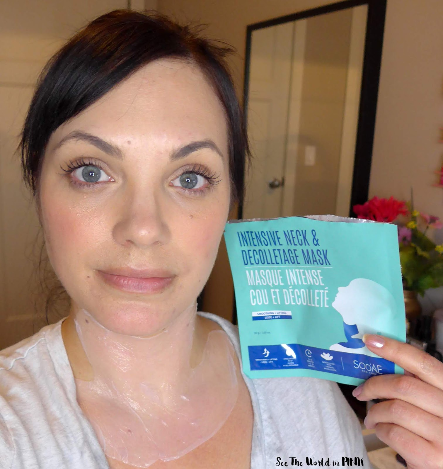 Skincare Sunday - Soo AE Intensive Neck & Decolletage Mask