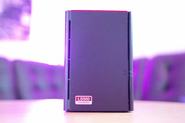 Ein Buffalo LinkStation 520 NAS im Atomlabor | Datensicherung und Unterhaltung kann ganz einfach sein