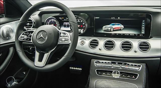 Mercedes E200 Sport 2019 sử dụng Hệ thống giải trí tiên tiến và hàng đầu của Mercedes hiện nay