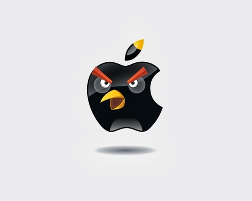 04-Yakushev-Grigory-Group-Photo-Angry-Birds-Mashup-Chrome-Starbucks-Apple-Pepsi-Twitter-Pringles-Nike-Adidas-www-designstack-co