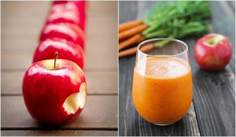 Resep cara membuat jus buah apel