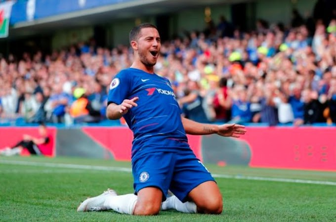 SPORTS:Eden Hazard says he wants to score 25 goals for Chelsea this season