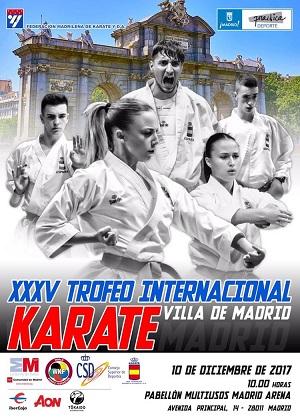 Trofeo Internacional de Karate Villa de Madrid en Madrid Arena