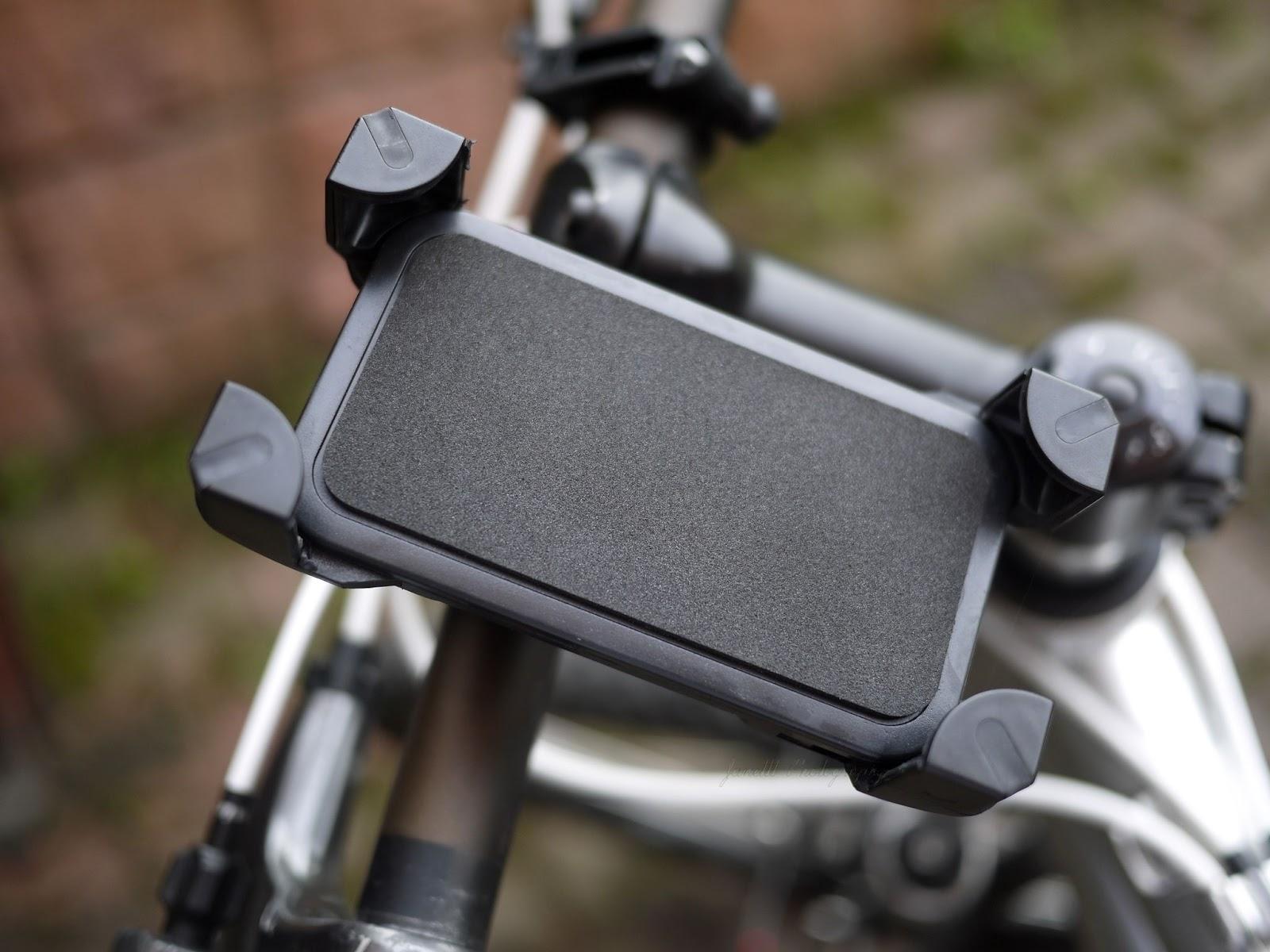 Zakupy Aliexpress - uchwyt rowerowy na telefon