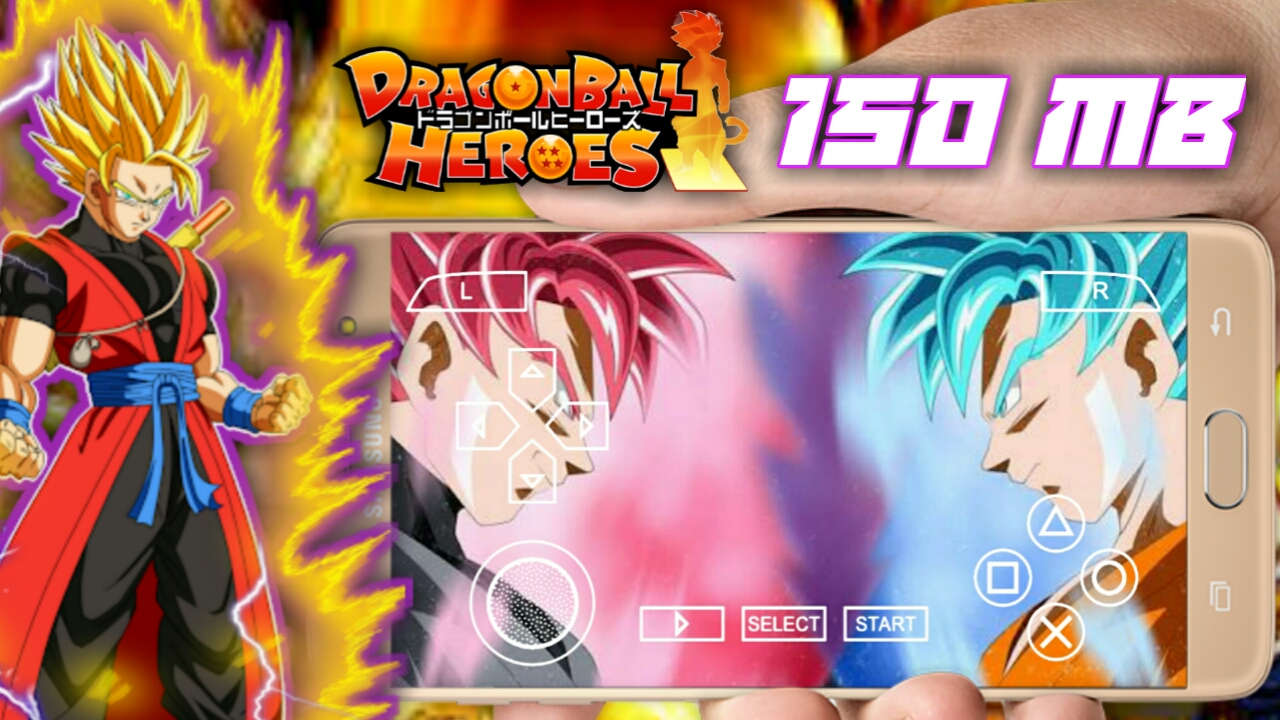 150 mb] dragon ball heroes   dragon ball shin budokai 2 mod