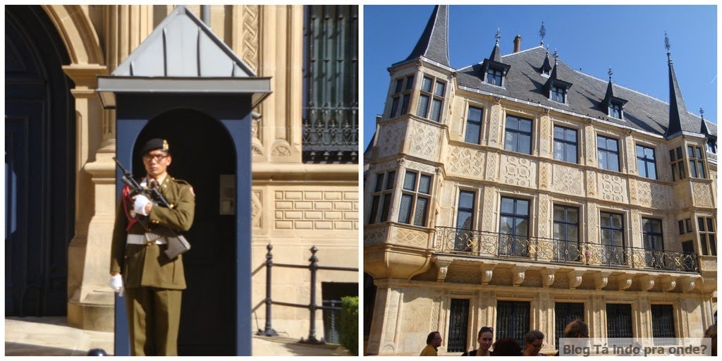 Palácio Grão-Ducal de Luxemburgo