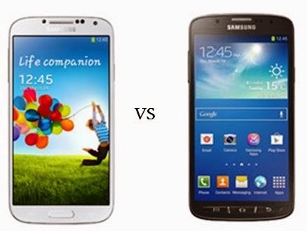 Beda Samsung Galaxy S4 dan Samsung Galaxy S4 Active
