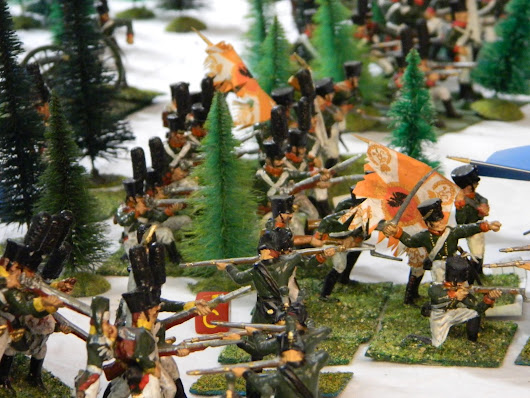 Battle of Sotapeli March 4th 1808 - a fictive wargame battle in 54mm (part 2)