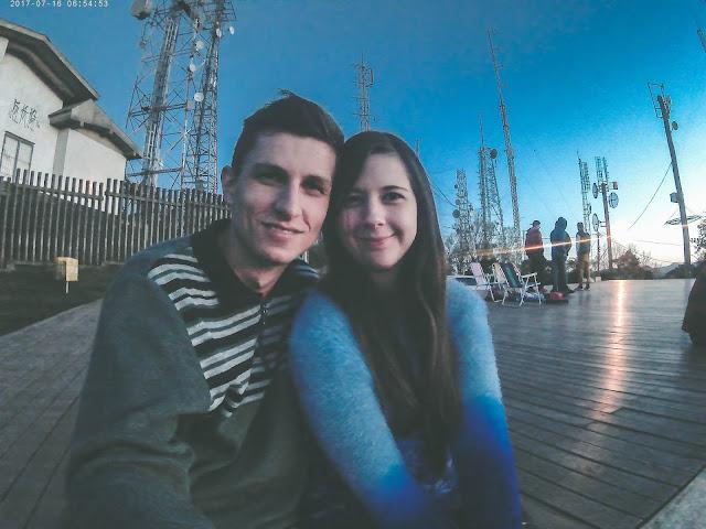 Casal no Mirante Morro da Borússia