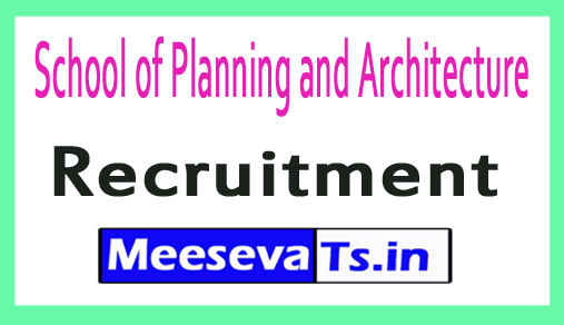 School of Planning and Architecture SPA Recruitment