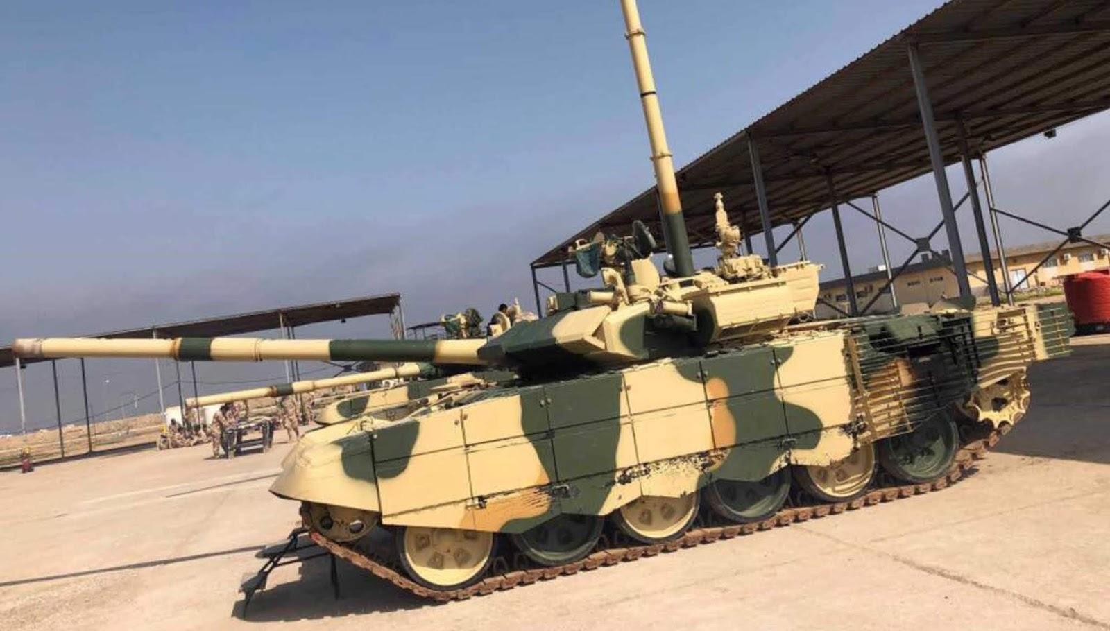 Irak telah menguji peralatan penggerak bawah air untuk tank T-90S