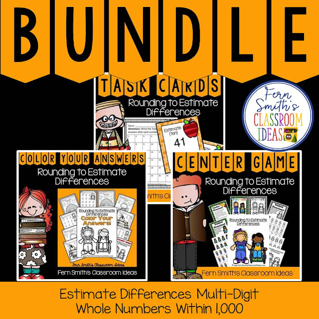 https://www.teacherspayteachers.com/Product/3rd-Grade-Go-Math-Lesson-18-Rounding-to-Estimate-Differences-Bundle-1618062