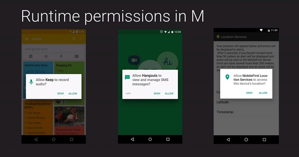 Android Multiple RunTime Permission - Andromate