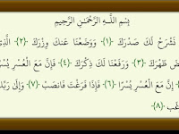 Surat Al-Insyirah ( 094 ), Terjemah dan Tafsir Jalalayn