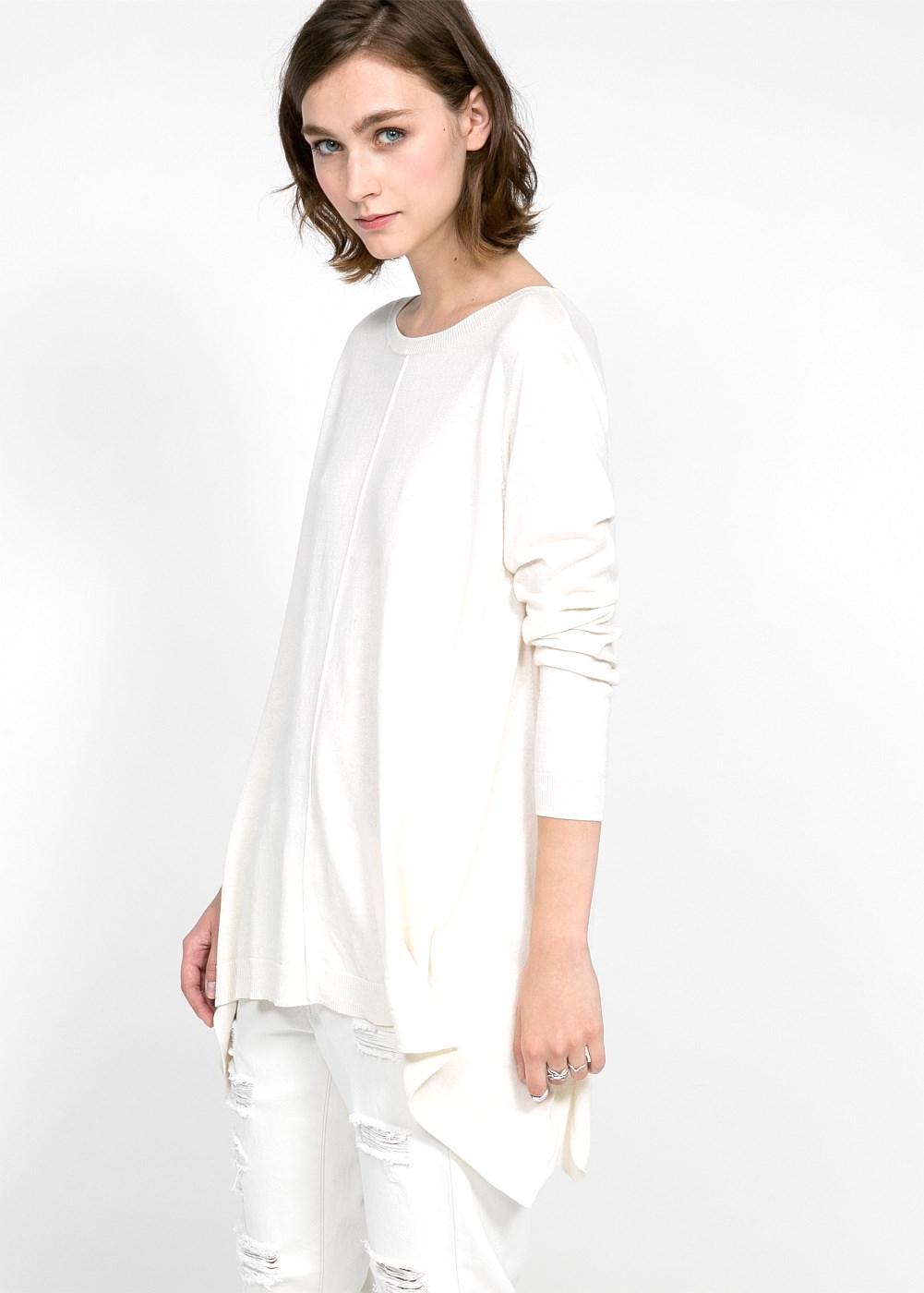 bílý outfit