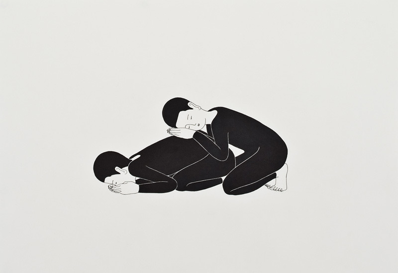 Daehyun Kim. Moonassi drawing