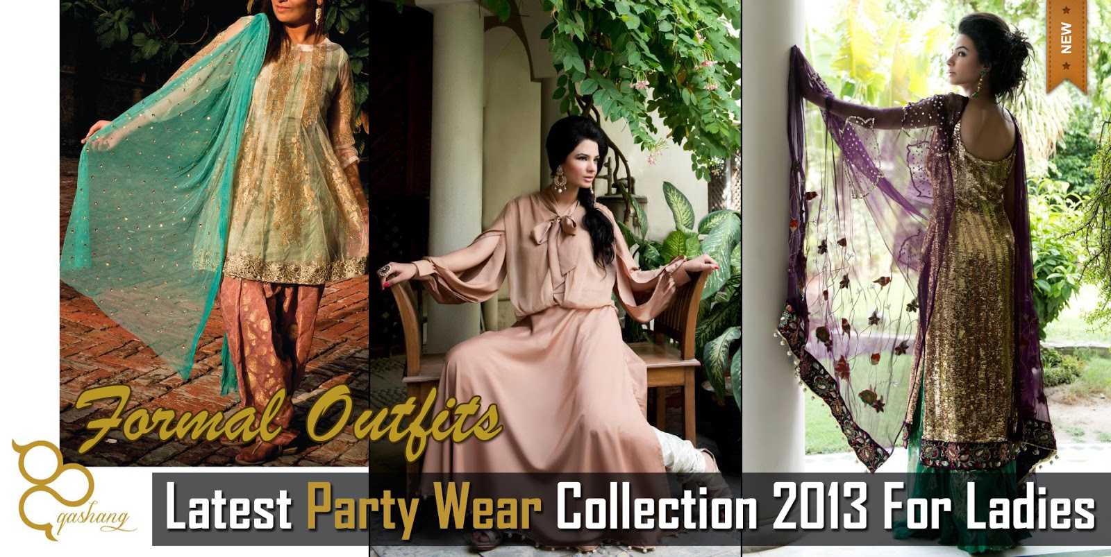 b315570efd68 Latest Party Wear Winter Collection 2013-14 By Qashang