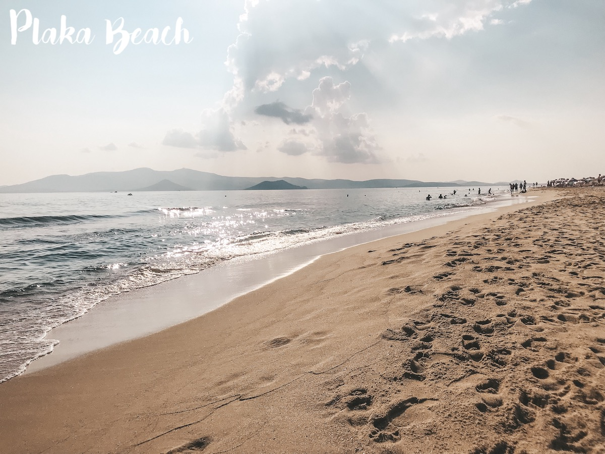 Naxos Travel Diary Reise Tipps Schönste Orte Schönste Strände der Insel Plaka Beach Strand